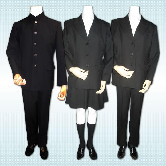 鶴嶺高等学校制服画像